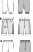 Штани трикотажні в джинсовому стилі - фото 3