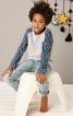 Пуловер прямого крою з рукавами реглан - фото 1