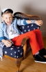 Брюки в джинсовому стилі для хлопчика - фото 1