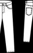 Брюки в джинсовому стилі для хлопчика - фото 3