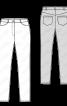 Брюки-джинси вузького крою - фото 3