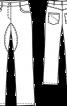 Джинси класичного крою - фото 3