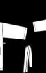 Халат махровий купальний - фото 3
