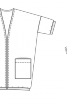 Кардиган довгий з рукавами 3/4 - фото 3