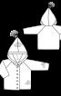 Вязанный кардиган с капюшоном - фото 3