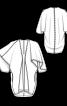 Кардиган із суцільнокроєними рукавами - фото 3