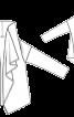 Кардиган просторого крою без застібки - фото 3