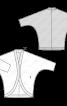 Кардиган простого крою із в'язаного полотна - фото 3