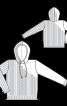 Анорак з капюшоном і візерунком «Коси» - фото 3