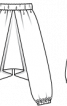 Брюки-шальвари для карнавального костюма - фото 3