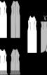 Сукня максі вечірня з відкритою спиною - фото 3