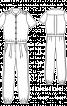 Комбінезон з короткими рукавами - фото 3