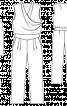Комбінезон з драпіровками на ліфі - фото 3