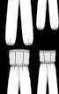 Комбінезон трикотажний з відкритими плечима - фото 3