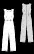 Комбінезон довгий без рукавів - фото 3