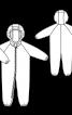 Комбінезон з рукавами реглан і капюшоном - фото 3