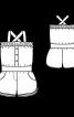 Комбінезон трикотажний із шортами - фото 3