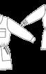 Комбінезон короткий в стилі сафарі - фото 3