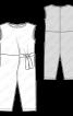Комбінезон трикотажний із завуженими брюками - фото 3