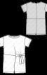 Комбінезон трикотажний з короткими рукавами - фото 3