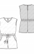 Комбінезон трикотажний без рукавів - фото 3