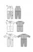 Комбінезон з короткими рукавами і відкладним коміром - фото 5