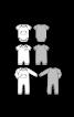 Боді трикотажне з короткими рукавами - фото 3