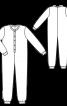 Комбінезон трикотажний дитячий - фото 3