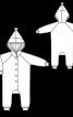 Комбінезон трикотажний з рукавами реглан - фото 3
