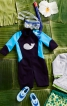 Комбінезон з рукавами реглан - фото 1