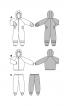 Куртка з капюшоном і брюки зі штрипками - фото 4