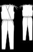Комбінезон з глибоким вирізом горловини - фото 3