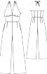 Комбінезон з відкритою спиною - фото 3