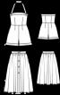 Комбінезон із шортами і пишна спідниця - фото 3