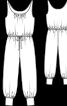 Комбінезон трикотажний з широкими штанинами - фото 3
