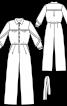 Комбінезон з подвійними рукавами - фото 3