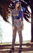 Комбінезон з довгими лацканами і завуженими брюками - фото 1