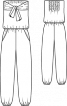 Комбінезон з бандо - фото 3