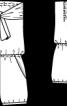 Комбінезон з бандо і шортами - фото 3