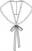 Комір знімний зі штучного хутра - фото 3
