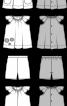 Туніка з рукавами-крильцями і шорти - фото 3