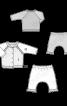 Жакет з рукавами реглан і штани з низьким кроковим швом - фото 3
