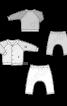 Жакет трикотажний і штанці на еластичному поясі - фото 3