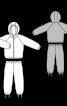 Куртка з капюшоном і брюки зі штрипками - фото 3
