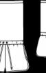 Комбінезон короткий із трикотажного полотна з пайєтками - фото 3