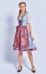 Сукня з фартухом і мереживною блузкою - фото 1
