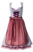 Сукня з фартухом і мереживною блузкою - фото 2