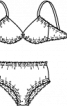 Купальник бікіні в стилі ретро - фото 3