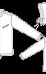 Куртка прямого крою зі знімним капюшоном - фото 2