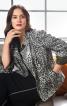 Жакет з асиметричною застібкою-блискавкою - фото 1